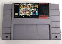 Super Mario All-Stars Nintendo SNES Authentic Classic Video Game