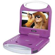 "Sylvania SDVD1052-PURP 10"" Portable DVD Player with Integrated Handle Purple"