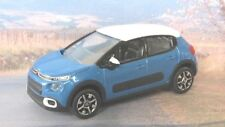 2018 CITROEN C3 1:64 (Blue/White) Norev MIP Diecast Passenger Car