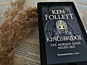 Kingsbridge Der Morgen einer neuen Zeit Ken Follet Hardcover