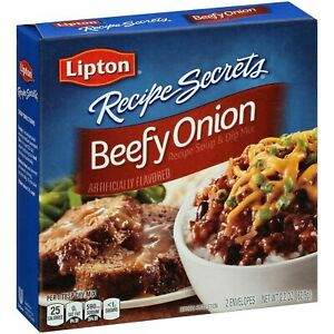 Lipton Beefy Onion Soup and Dip Mix 2.2 oz