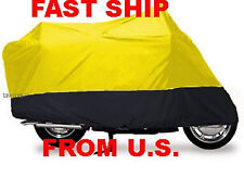 suzuki gs1000g gs 1000g Motorcycle Cover TQ L YELLOW