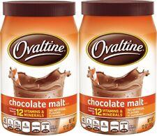 Ovaltine Rich Chocolate Malt Mix 2 Jar Pack