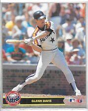 Sealed 1990 Major League Baseball Glenn Davis Action Photos Series 1