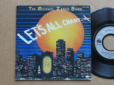 """DISQUE 45T DE THE MICHAËL ZAGER BAND  """" LET'S ALL CHANT """""""