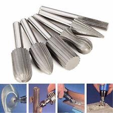 6X Tungsten Steel Carbide Burrs For Rotary Drill Bit Die Grinder 6mm Shank PO