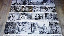 L'ILE DES DAUPHINS BLEUS ! jeu 17 photos cinema lobby cards western indiens 1966