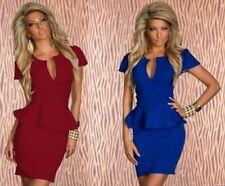V-Neck Clubwear Mini Dresses for Women
