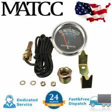 52mm Car Auto Mechanical Water Temperature Temp Meter Metal Gauge 100~220 ℉ 12V