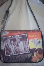 STUNNING AUDREY HEPBURN & GREGORY PECK PICTURE BAG/PURSE with BLING. NWT