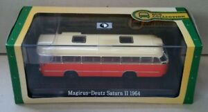 ATLAS EDITIONS BUS COLLECTION MAGIRUS-DEUTZ SATURN II 1964 JY40