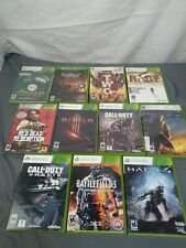 Lot of 11 Xbox Games (Fall Out Vegas, Halo, Battlefield)