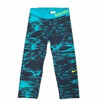 Nike Pro Cropped Training Capri Pants Women's Size S Dri Fit Yoga Workout Active