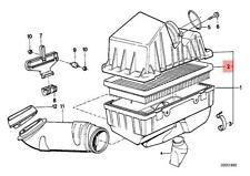 Genuine BMW E28 E30 E31 E32 E34 E36 Engine Air Filter Insert OEM 13721720861
