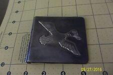 Vintage Sterling Silver Wallet billfold mallard duck hunter taller borda