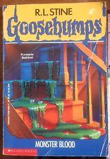 Goosebumps - R L Stine, Monster Blood, Pb Book