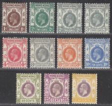 Hong Kong 1921-37 King George V Part Set to 30c Mint