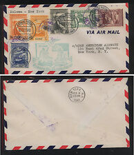 Portugal  Guine first flight cover to  US  1941                           MS1212