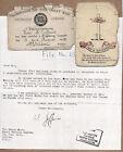 WW1 Comrades of Great War Foundation Membership Card, Keepsake & Navy Provenance