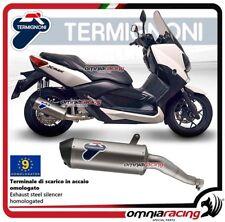 Termignoni RELEVANCE Tubo de Escape acero racing Yamaha Xmax 250 2009>2016
