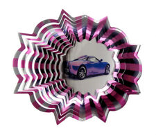 WorldaWhirl 3D Wind Spinner Race Car Sports Car SS Patio Whirligig Yard Twister
