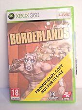 Borderlands, Xbox 360, Version Promo, PAL EUR
