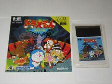 DORAEMON MEIKYU DAISAKUSEN PC Engine Hu Card Japan Import