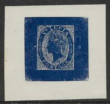 St Lucia Fournier Undenominated Issue Forgery