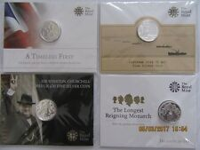 4 x £20 Silver Coins From the Royal Mint - Dates 2013, 2014, 2015 x2{2 Different