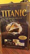 NIB Titanic 100 Years Below Deluxe Centenary Edition DVD Collector Set