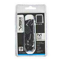 NcStar BLACK M-LOK Rail Handguard Slot Covers - 18 Piece Pack