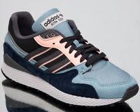adidas Originals Ultra Tech Mens Ash Grey Blue Casual Lifestyle Sneakers BD7934