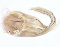 Lace Closure Silk Top Frontal Topper Remy Human Hair Remi Partial Wig all Sizes