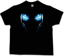 Mark II Armor Eyes Kids Boys T-shirt Tony Stark Iron Arc Reactor Sign III 3 on