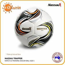 NASSAU TUJI TRAPPER Size 5 Soccer Ball KFA Approved Training Soft Touch Football