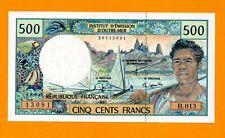 French Polynesia 500 Francs UNC