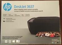 NEW HP Deskjet 3637 Printer-All in one-Mobile printing-WIRELESS+Free set INK