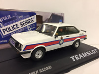 Team Slot SRE14 Ford Escort MKII RS 2000 Police Car 1 of 400 Pcs