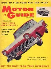 Motor Guide June 1957 Chevrolet 3104, Dodge 100, Ford F-100 051017nonDBE