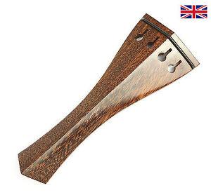 Finest Quality Tamarind Violin Tailpiece Hill with Ebony Trim 10.8cm