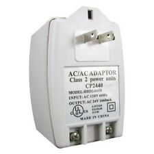 24VAC 40VA Plug In Transformer For Alarm Control Panels And Security Cameras