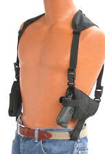Pro-Tech Shoulder Holster fits Springfield XDM factor Black Cordura WSHD-8