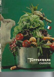 Livre de recettes Tupperware Cuisine 1973