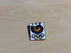 1988 ITV Seoul Olympics Enamel Badge