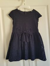 Next navy lace party/occasions dress, 4-5 years