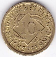 1925 E Germany 10 Reichspfennig***Collectors***