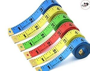 BODY MEASURING RULER SEWING TAILOR TAPE 60IN / 150 CM