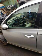 VW golf mk6 passenger front door bare shell silver
