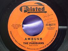 Hear Indian Fight Tittyshaker 45 : The Parisians ~ Ambush ~ Felsted 8627