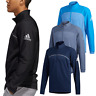 adidas Golf Mens Go-To 1/4 Zip Water Resistant Pullover Sweater 48% OFF RRP